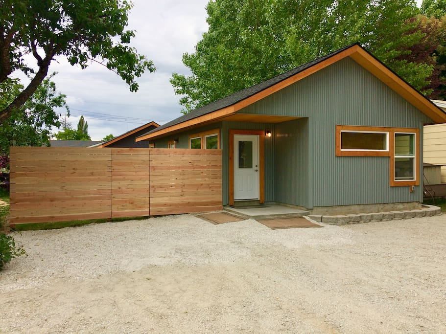 Plenty of off street parking and fenced in yard for pets and privacy.