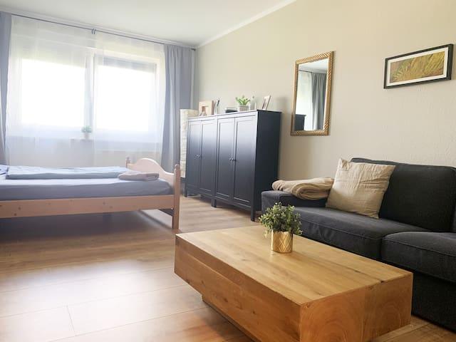 Bella • Ganze Wohnung im Zentrum, WiFi, Stellplatz