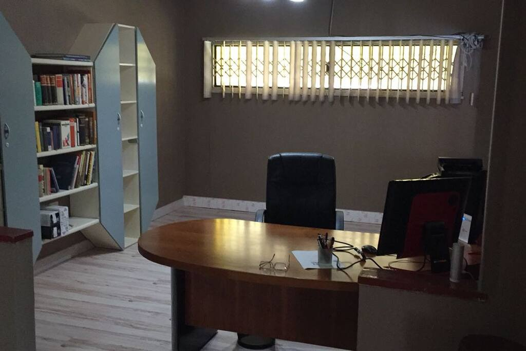 Office Space with Printing Facility and Internet Access