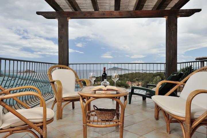 Panoramico appartamento vista mare - Santa Maria Navarrese - Apartment