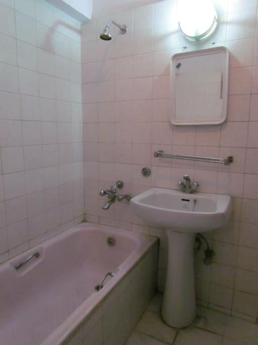 Bath Tub and Private Bath Room