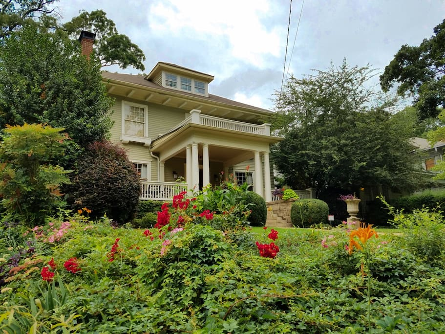 Stunning Craftsman dating back to 1905, nestled in the heart of Midtown.