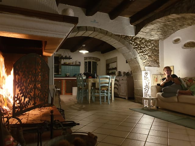 Cosey antique modern house in  Sardinia