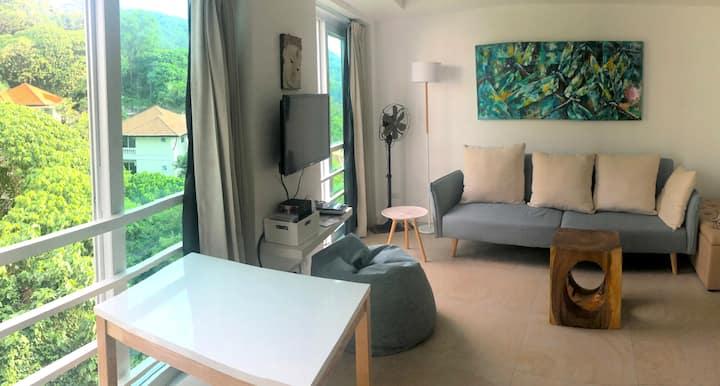 Gorgeous Light 1-br apartment in Kata
