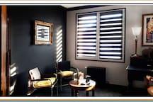 Chambre ''Majorelle'' detail