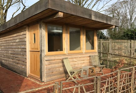 Oak framed guesthouse with wetroom & country view - Yalding - Casa de hóspedes