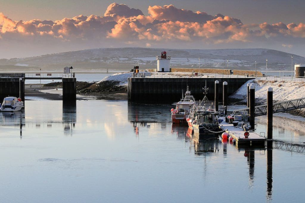 Burry Port Harbour- in the winter :)