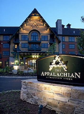 Appalachian Condo/Hotel Mt. Creek Resort 12538