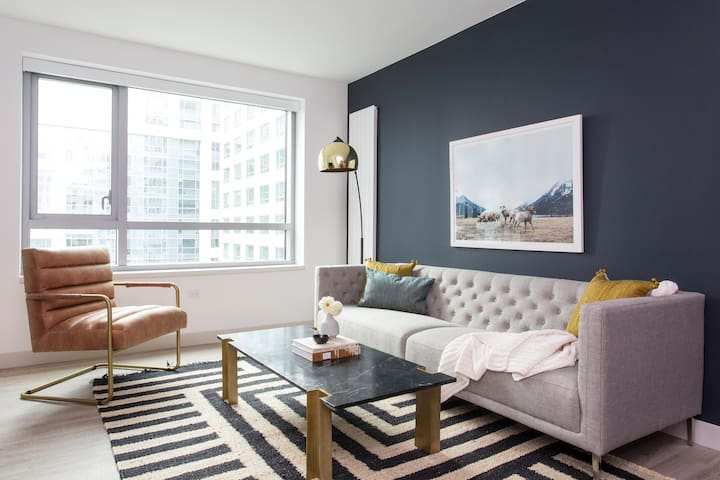 Sonder | Eighth Street | Chic 1BR + Rooftop