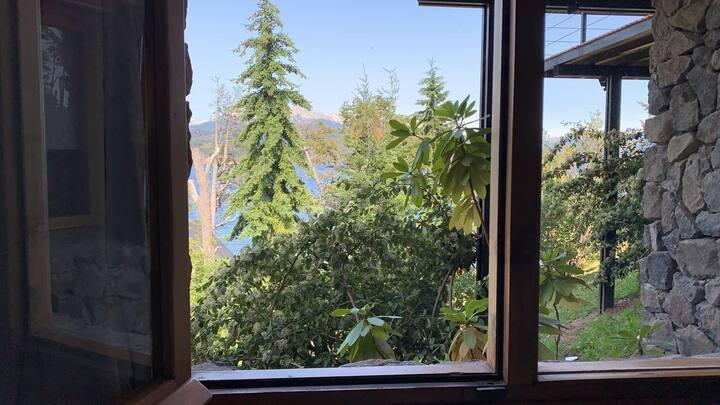 Monoambiente con vista al lago