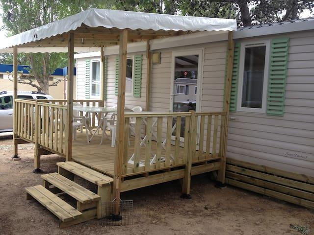 location mobil-home narbonne plage 4 étoiles