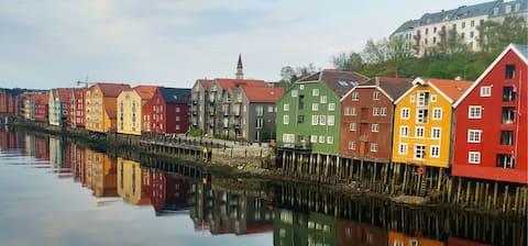 Koselig leilighet på Bakklandet