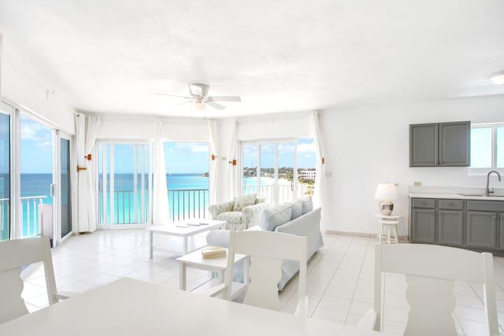 Turtles Nest Beach Resort  - Oceanfront 1 bedroom & studio condo in Meads bay