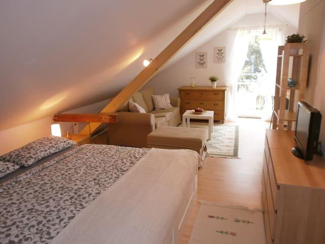 Dachwohnung im Grünen/Thermenregion - Mühlheim am Inn - Lägenhet