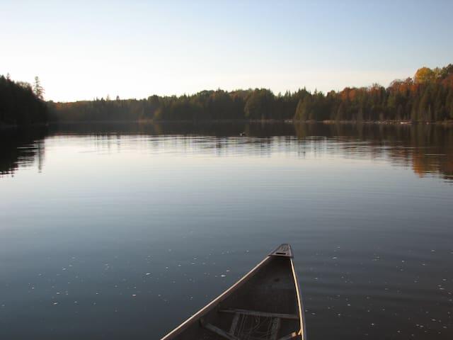 Quiet no-motor lake