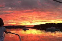 Sunset Cruise, a romantic celebration, a day trip to Bar Harbor, or a private ferry over to Cranberry Islands  Islesford Dock Restaurant and Gallery for lunch or Dinner. - you name it - the experience is yours to navigate.