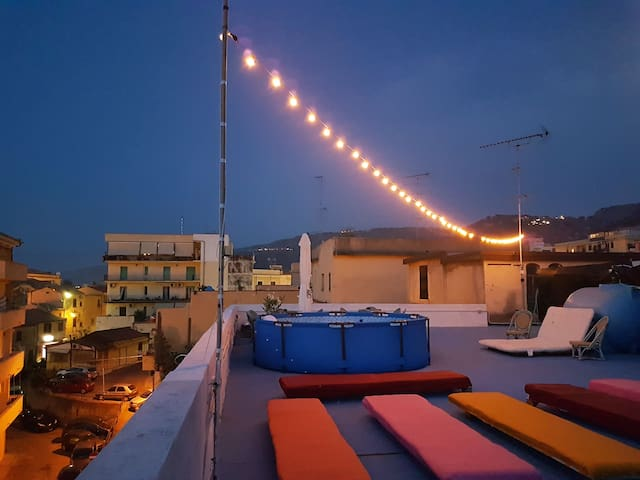 4-bed room for women, Tropea City Hostel