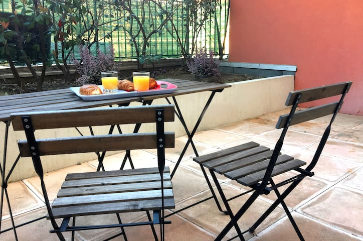 ❤ Terrasses Saint Martin : calme, garage ☀