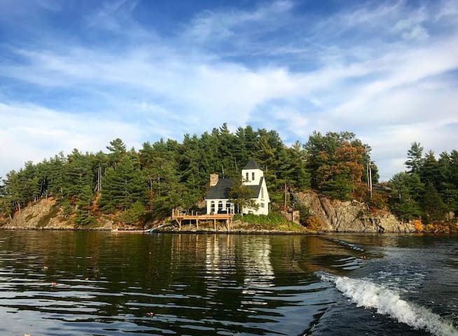 Fishermans Rest Island on Butterfield Lake