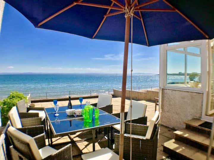 Elie Beach Front House with Spectacular Sea Views