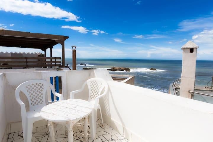 Beau riad sur rempart face mer 3éme - Essaouira - Townhouse