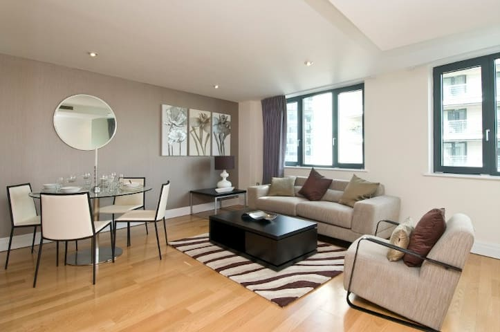 Central London 2 bed 2 bath Flat