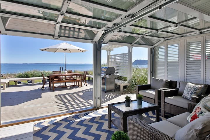 Beautiful Waterfront Beach House at Sunlight Beach, WA. 3 bed, 1.5 bath (259) - 259