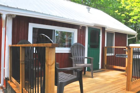 Rowan Cabin: The perfect log cabin on a lake!
