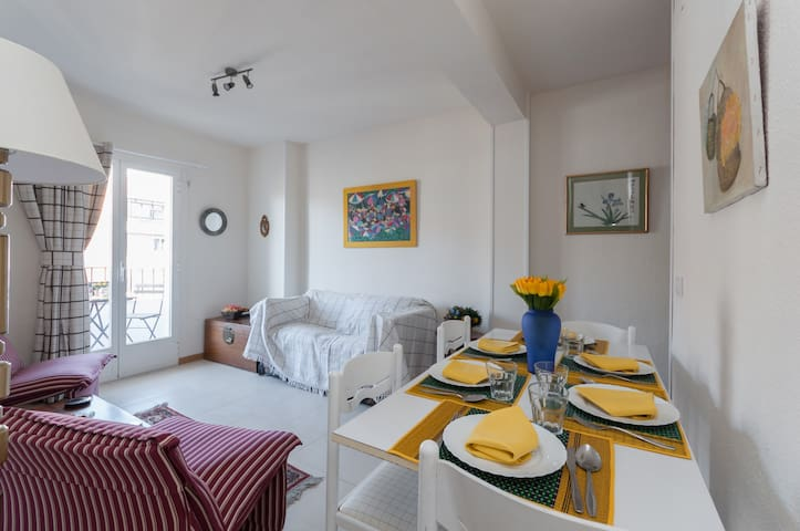 Castellana-Cosy & cool Apart.+TERRACE 2BR+1BR-6Pax - Madrid - Pis