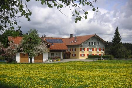 Alpenblick, gemütliche Ferienwohnung im Westallgäu