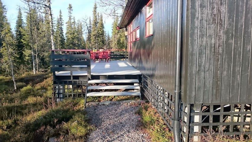 Koselig hytte i Trysil-Knut fjellverden
