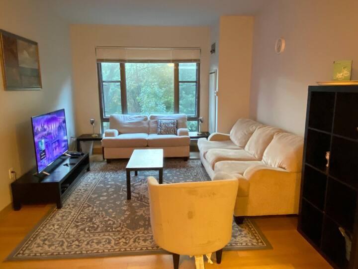 Boston Luxury apartment on river & garden view