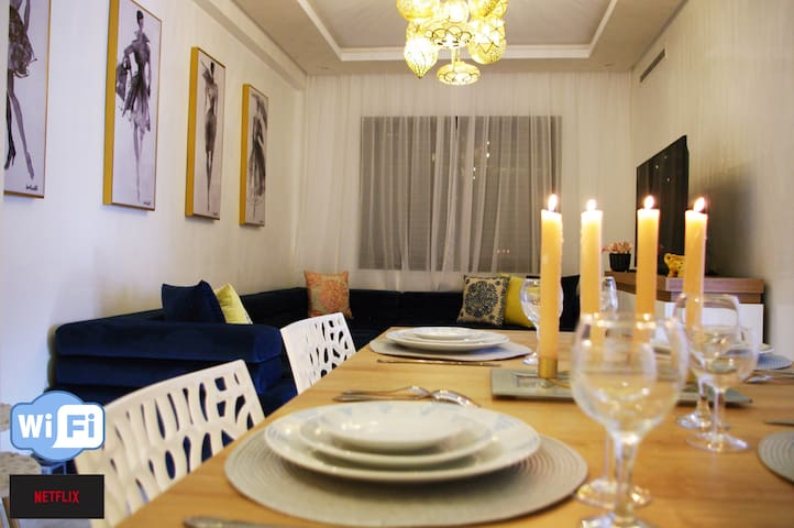 Large luxury apartment in the center of Marrakech