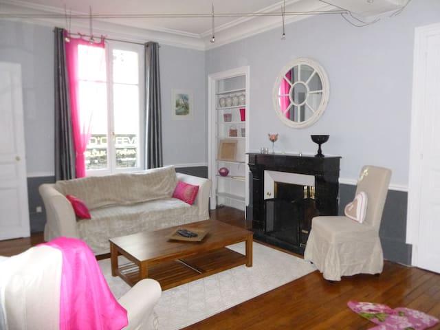 Grand Appartement de Charme au coeur de Troyes - Troyes - Huoneisto