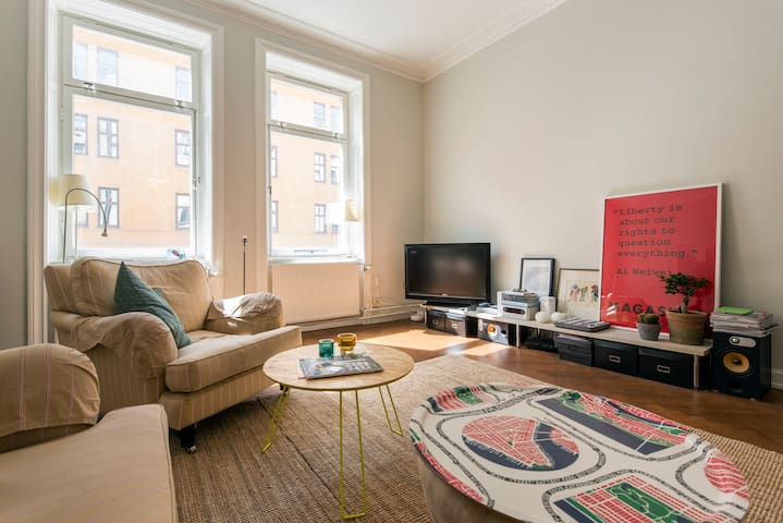 Spacious, central apartment with large balcony - Stockholm