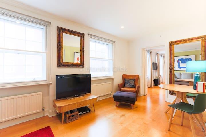 London Marylebone - Large 1 Bed apartment