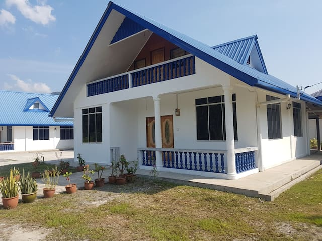 Bungalow house at Kg. Tamparuli Tuaran
