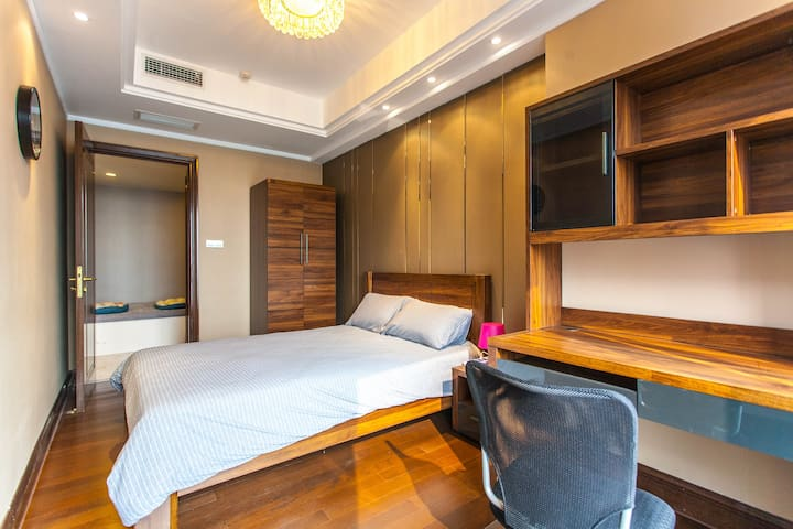 New apt Citycenter 46/F view2bedrms+tatamibed 6pax - Chengdu - Byt