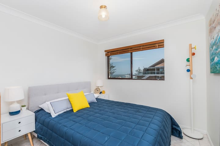 Bedroom 3 has a queen bed.