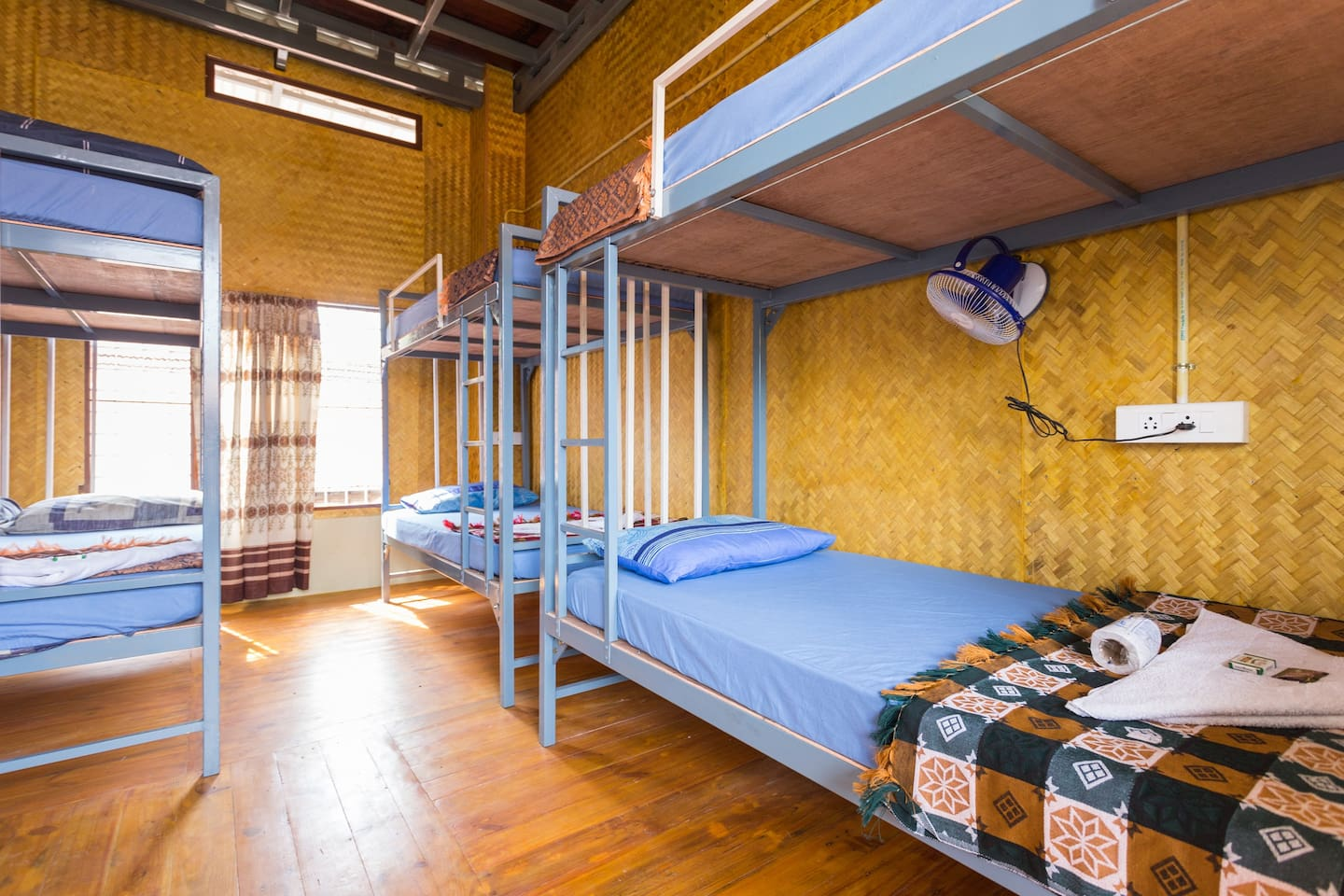 Spacious Single Beds in dorm