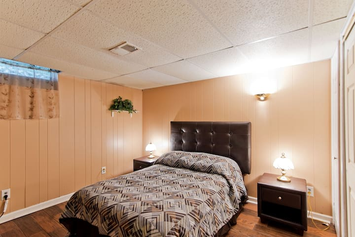 Large Basement Guest Suite