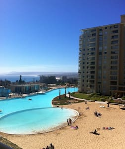 Depto en la playa (Algarrobo) - Cond. Privado