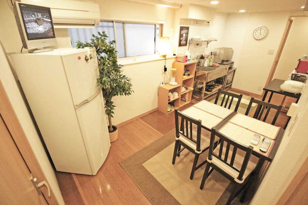 Common space Kitchen