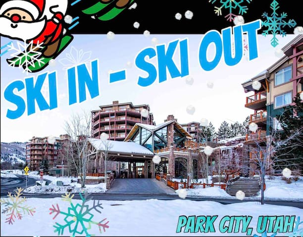 ⭐️⭐️⭐️⭐️⭐️ PARK CITYSKI IN & OUT,SUNDANCE❄️⛄️4