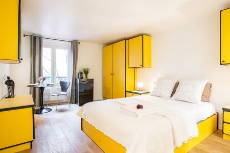 CHARMING RÉTRO MARAIS 4 HOTEL VILLE - Paris