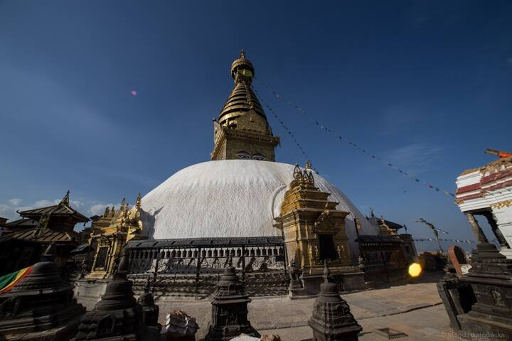 Guidebook for getting around Swayambhu