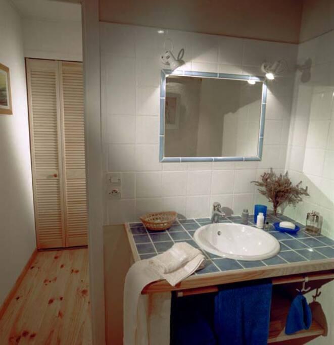 """salle de bain chambre""""Sable"""""""