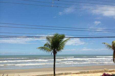 Beautiful and Top Beach Front Apartment - Mongaguá - Daire