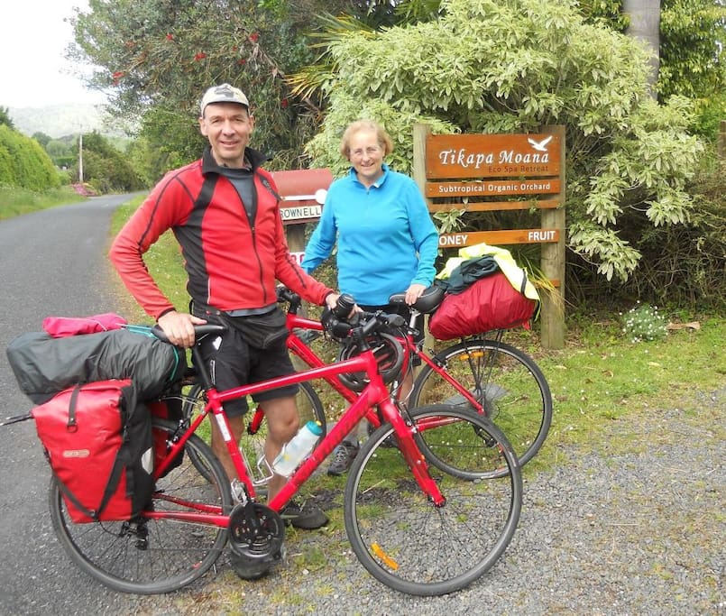 Cycle touring guests