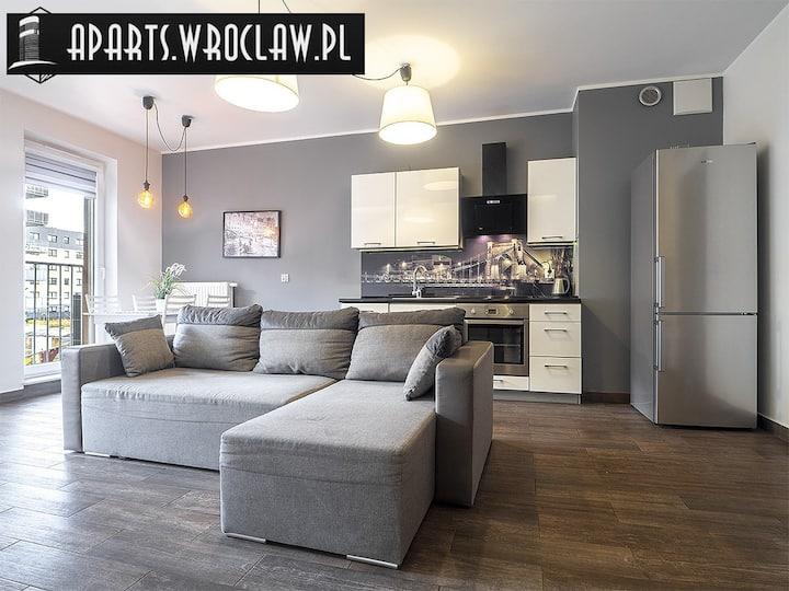 Great Big Apartament Promenady Wrocławskie 50m2